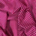 White Spots on Deep Pink