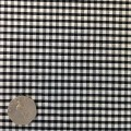 Black & White Gingham Fabric Mini 1/8 inch check