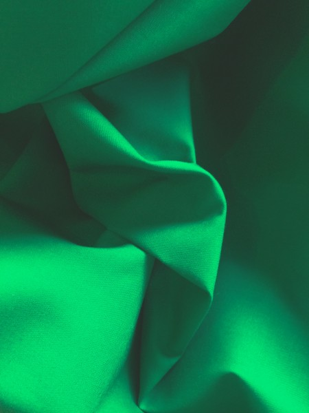 Emerald Polyester Cotton Poplin 112cms wide