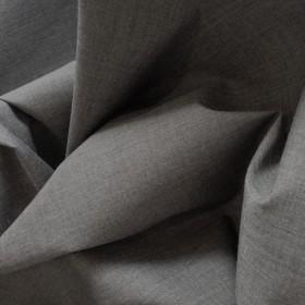 Grey Polyester Cotton Poplin 112cms wide