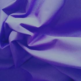 Purple Polyester Cotton Poplin 112cms wide