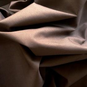 Brown Polyester Cotton Poplin 112cms wide