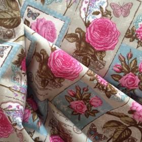 Printed Cotton Canvas - Floral