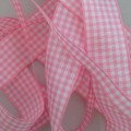Rose Gingham Ribbon