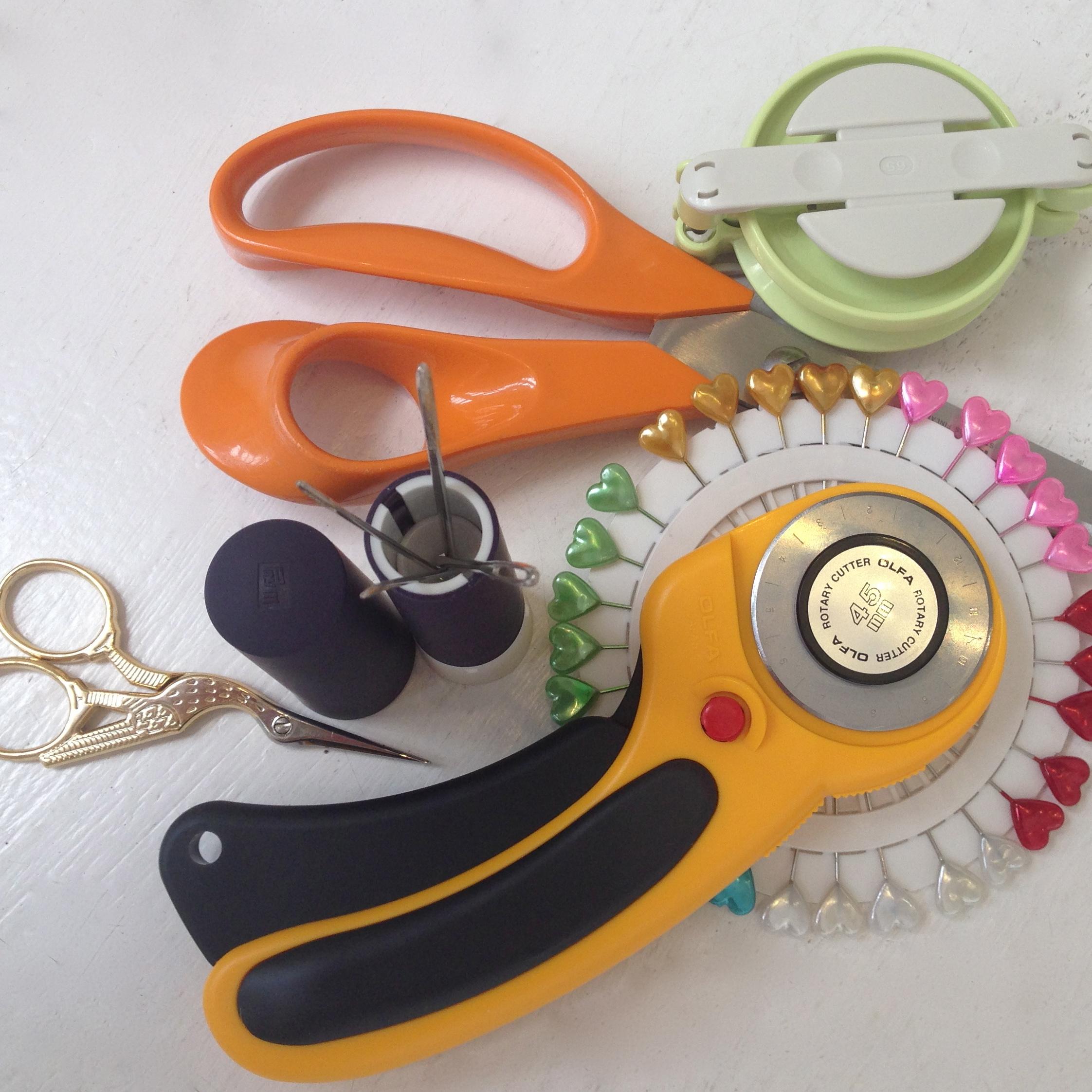 Tools, Pins, Needles & Notions