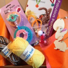 the-S box March 2017 Pompom Party Contents