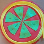 Piped pincushion- pin decorative felt
