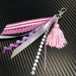 no-sew ribbon charm