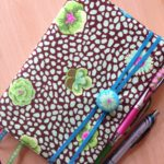 How to : make a fabric journal cover